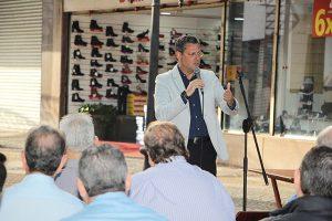 ACIB participou de reunião no Calçadão da Batista sobre Revitalização do Centro