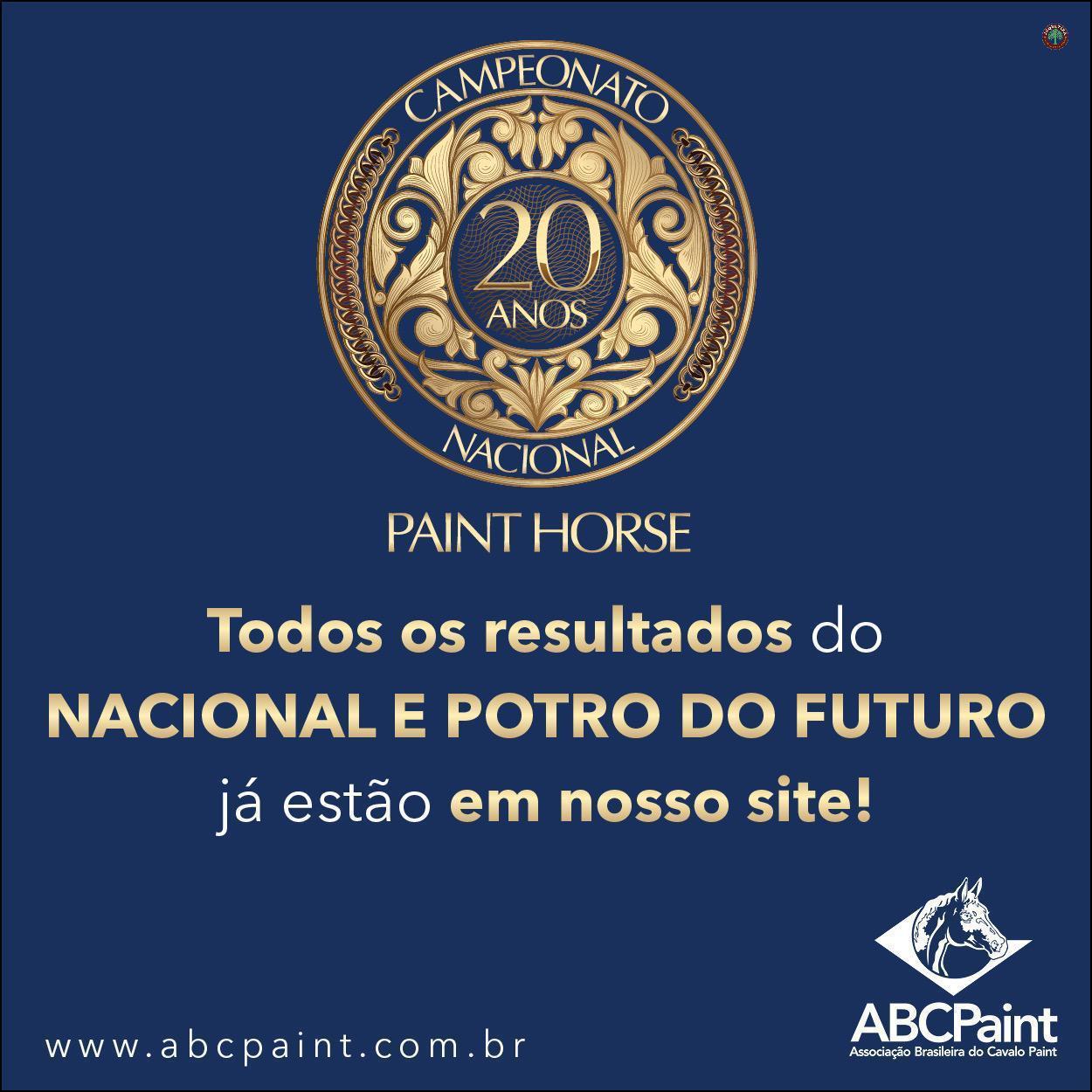 Pontos de Mérito dos participantes do Nacional e Potro do Futuro da ABCPaint já estão lançados em Campanha dos Participantes
