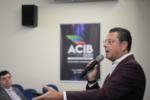 ACIB Negócios: primeiro evento presencial será no próximo dia 19