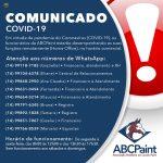 ABCPaint faz atendimento remoto durante quarentena do Coronavírus