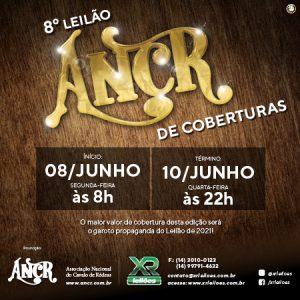 ANCR PROMOVE 8º LEILÃO DE COBERTURAS